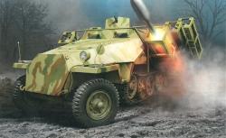 1:35 Sd.Kfz.251 Ausf.D w/28/32cm Wurfra. Carson 776861 500776861