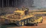 1:72 Tiger I MID Prod.w/Zimmerit&Kübelw. Carson 777434 500777434