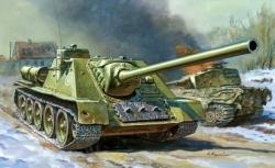 1:72 Soviet Self Propelled Gun SU-100 Carson 785044 500785044