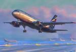 1:144 Airbus A-320 Carson 787003 500787003