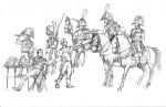 1:72 Hist. Franz. Napoleons Generalstab Carson 788080 500788080