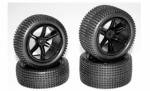 4x Reifen Set Stormracer 2 Carson 900104 500900104