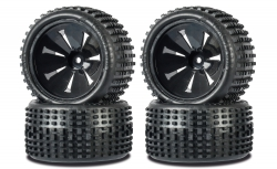 1:10 Monster OFF-Road Wheel Set Big PIN Carson 900139 500900139