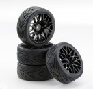 1:10 SC-Räder LM Style schwarz (4) Carson 900538 500900538