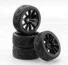 1:10 SC-Räder VINS Style schwarz (4) Carson 900540 500900540