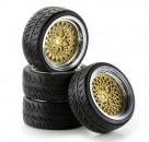 1:10 SC-Räder Classic Style ch/gold (4) Carson 900551 500900551