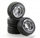 1:10 SC-Räder Rat Style silber (4) Carson 900552 500900552