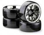1:10 Drift Räderset OND W Sp.sch.chr.4 Carson 900621 500900621