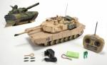 M1 A2 Abrams, 27 MHz, 100% RTR Carson 907188 500907188