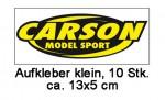 Carson Aufkleber, klein 13 x 5 cm (10) Carson 909040 500909040