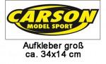 Carson Aufkleber, groß 34 x 14 cm Carson 909041 500909041