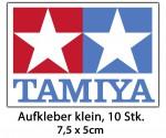 TAMIYA-AUFKLEBER 75x50 mm klein (10) Carson 909056 500909056