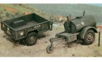 1:35 Gal.S TankTrailer+M101 KargoTrailer Carson 229 510000229