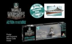 1:700 Bismarck - World of Warships Carson 46501 510046501