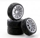 1:10 SC-Räder M Style silber (4) Carson 4900029 554900029