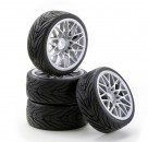 1:10 SC-Räder LM Style silber (4) Carson 4900030 554900030
