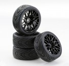 1:10 SC-Räder LM Style schwarz (4) Carson 4900038 554900038