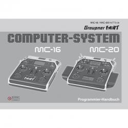 Handbuch mc-20/mc-16französisch Graupner DZ33020.FR