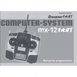 Handbuch mx-12 spanisch Graupner DZ33112.ES