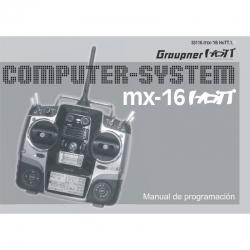 Handbuch mx-16 spanisch Graupner DZ33116.ES