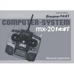 Handbuch mx-20 spanisch Graupner DZ33124.ES