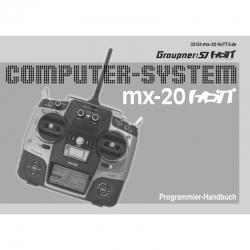 Handbuch mx-20 deutsch Graupner DZ33124.DE