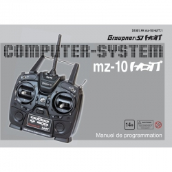Anleitung zu mz-10französisch Graupner DZS1001FR