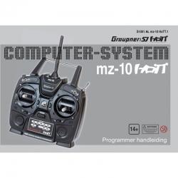 Anleitung zu mz-10holländisch Graupner DZS1001NL