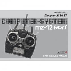 Anleitung zu mz-12tschechisch Graupner DZS1002CZ