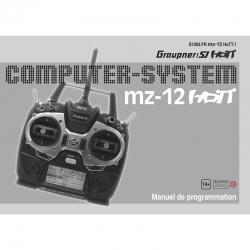 Anleitung zu mz-12französisch Graupner DZS1002FR
