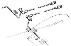 Strip Querruder-Kugelanlenkung DuBro F-DB186