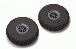 76mm Diamond Lite Räder (Paar) DuBro F-DB300DL