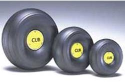 1:4 J3 Cub Radblenden (Paar) DuBro F-DB425CC