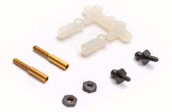 Micro Kugelköpfe f. 1,2mm Gestänge (2 Stk) DuBro F-DB929
