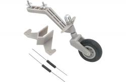 Semi-Scale Spornrad System (40-90) 30mm Rad DuBro F-DB956
