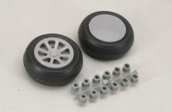 Scale Wheel-Diamond Tread (2/Pr) Robart