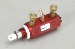 Einstellb. Druckventil(2Weg/3Anschl/Rot Robart