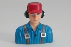 Zivil Pilot (1/6 Blau)