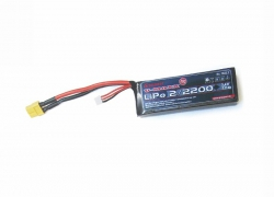 LiPo-Akku 20C 2/22007,4V XT60 Graupner 7632.2