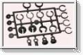 Plastikteile Stoßdämpfer Graupner 90045.94