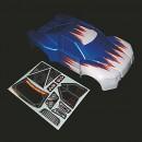 Karosserie blau Graupner H11036B
