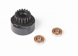 Kupplungsglocke 17 Zähne Lager 5x12 mm Graupner HOP.0016