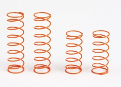 Stoßdämpferfedern v./h. orange Graupner HOP1.0010