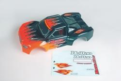 Karosserie orange Graupner H11036R