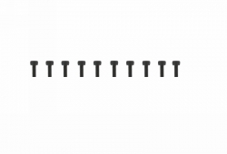 Schraube Innensechskant M3x8 (10) Graupner H32308