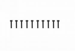 Schraube Innensechskant M3x12 (10) Graupner H32312