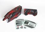 Karosserie+Spoiler lackiert Graupner H40061