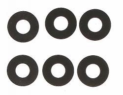 Unterlegscheiben, 6.2x13.9x0.3 mm, 6 St. Graupner H87005.1