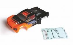 Karosserie lackiertorange/schwarz Graupner H89819