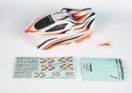 Karosserie lackiertorange für Elekt. S Graupner H90062RG